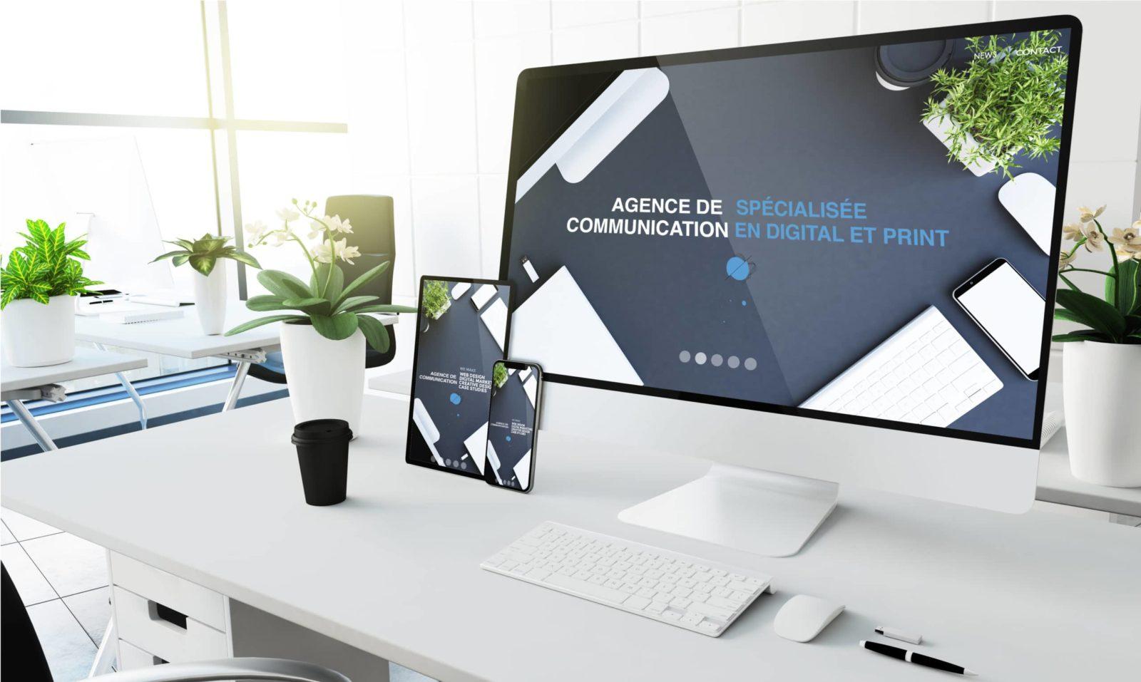 agence de communication médicale & santé création site Internet référencement naturel SEO, gestion des réseaux sociaux